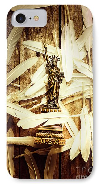 Freedom And Independence IPhone Case by Jorgo Photography - Wall Art Gallery