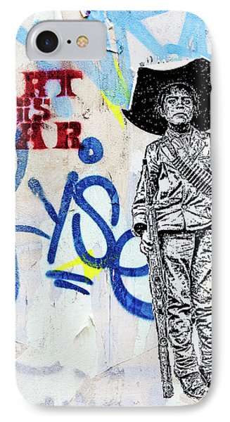 IPhone Case featuring the photograph Freedom Fighter by Art Block Collections