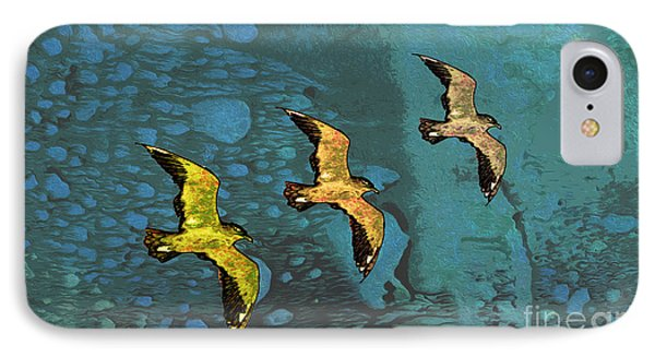Freedom Flight IPhone Case by Nina Silver