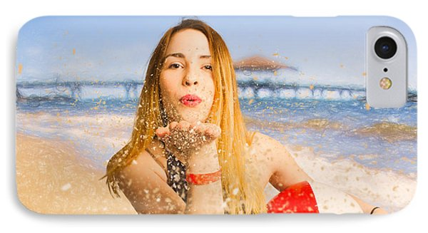 Freedom In Summer Vacation  IPhone Case by Jorgo Photography - Wall Art Gallery