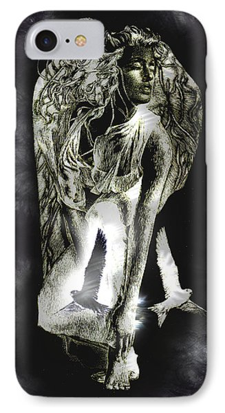 IPhone Case featuring the painting Freedom by Ragen Mendenhall