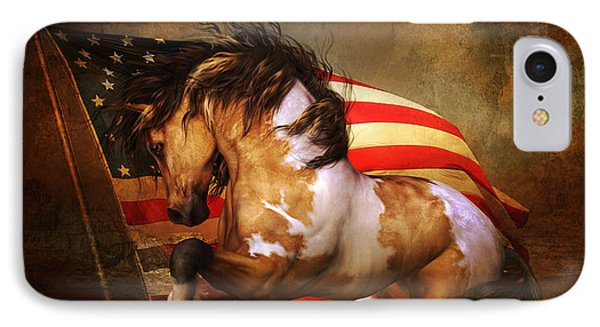 Freedom Run IPhone Case by Shanina Conway