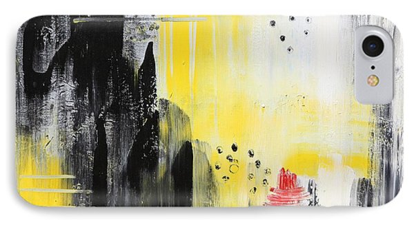IPhone Case featuring the painting Freedom by Sladjana Lazarevic