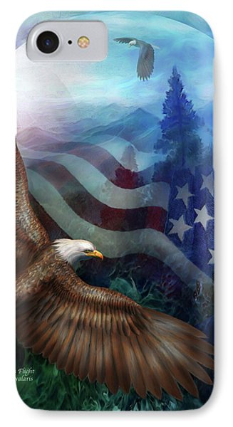 Freedom's Flight Phone Case by Carol Cavalaris