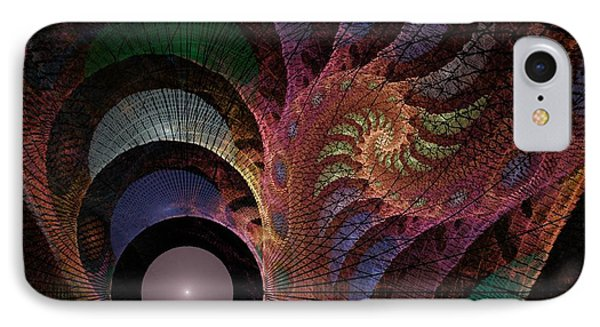 Freefall - Fractal Art IPhone Case