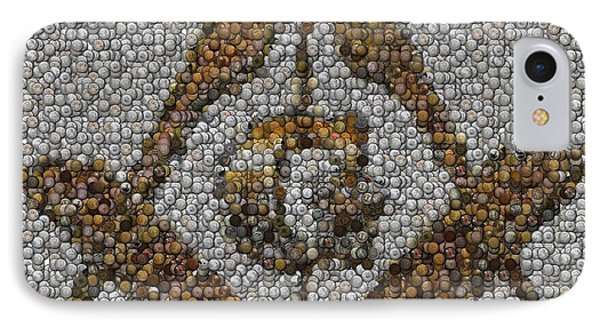 Freemason Coin Mosaic IPhone Case