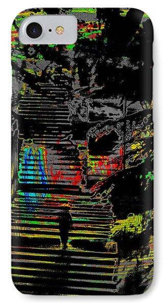 Freeway Park Steps Phone Case by Tim Allen