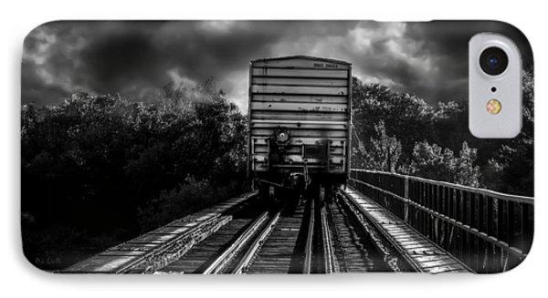 Freight Train Blues Phone Case by Bob Orsillo
