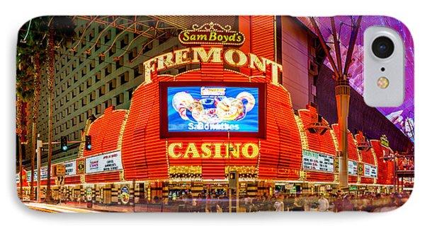 Fremont Casino IPhone Case by Az Jackson