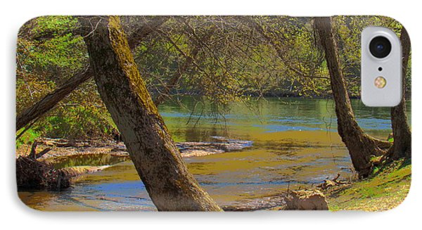 French Broad Tributary IPhone Case