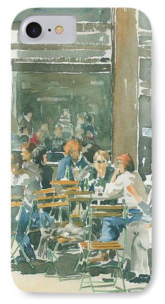 French Cafe Scene  Phone Case by Ian Osborne
