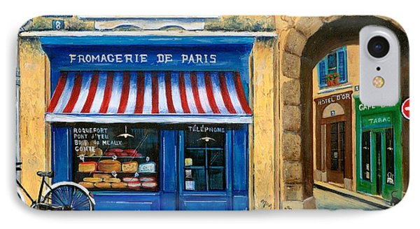 French Cheese Shop Phone Case by Marilyn Dunlap