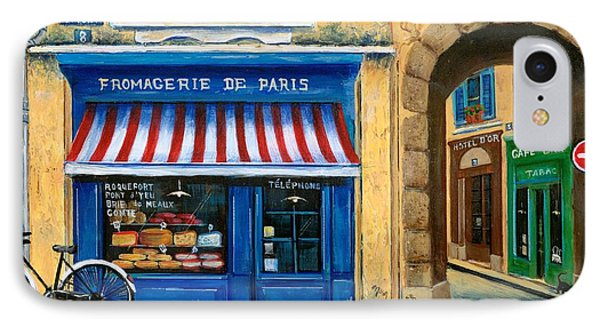 French Cheese Shop IPhone Case by Marilyn Dunlap