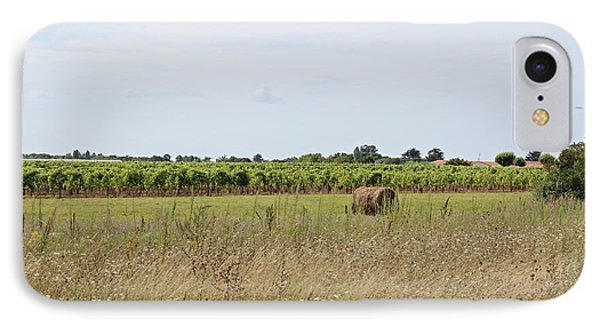 IPhone Case featuring the photograph French Countryside by Cendrine Marrouat