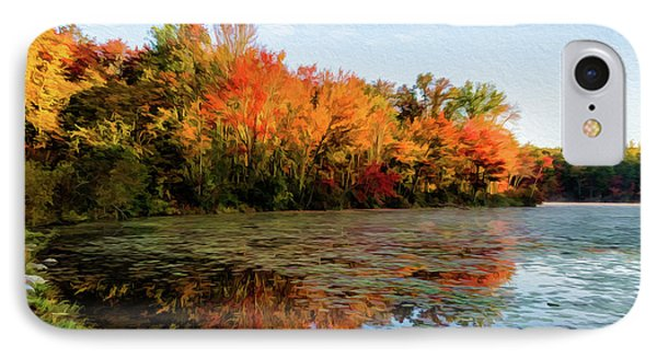 French Creek 15-025 IPhone Case by Scott McAllister