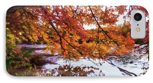 French Creek 15-107 IPhone Case by Scott McAllister
