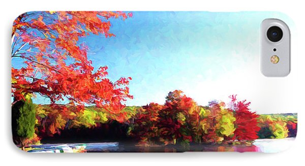 French Creek Fall 020 IPhone Case by Scott McAllister