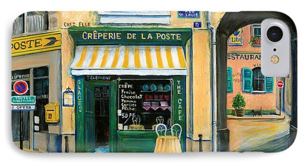 French Creperie Phone Case by Marilyn Dunlap