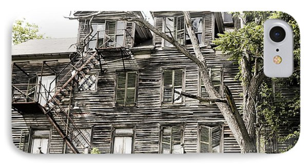 IPhone Case featuring the photograph French Doors And Fire Escapes by Carol Lynn Coronios