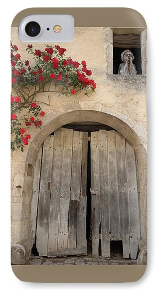 French Doors And Ghost In The Window Phone Case by Marilyn Dunlap
