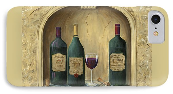 French Estate Wine Collection IPhone Case by Marilyn Dunlap