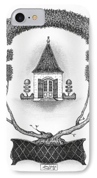 French Garden House Phone Case by Adam Zebediah Joseph