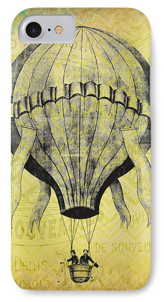 French Hot Air Balloon IPhone Case by Brandi Fitzgerald