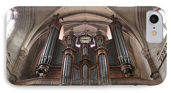 French Organ IPhone Case by Christin Brodie