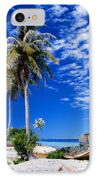 French Polynesia, Beach Phone Case by Peter Stone - Printscapes