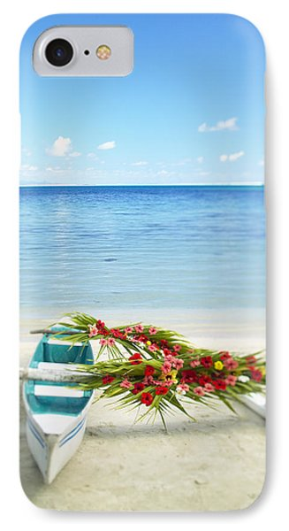 French Polynesia, Huahine Phone Case by Kyle Rothenborg - Printscapes