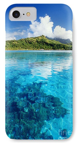 French Polynesia, View Phone Case by Joe Carini - Printscapes
