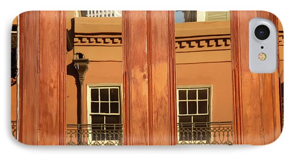 IPhone Case featuring the photograph French Quarter Reflection by KG Thienemann