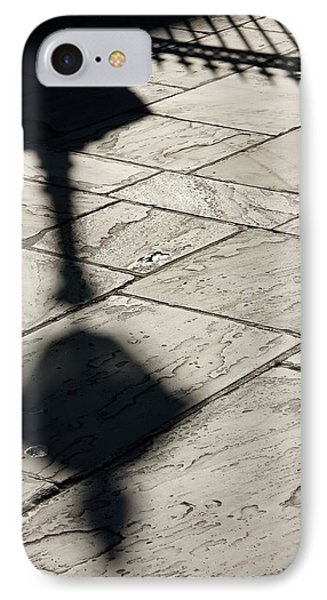 IPhone Case featuring the photograph French Quarter Shadow by KG Thienemann