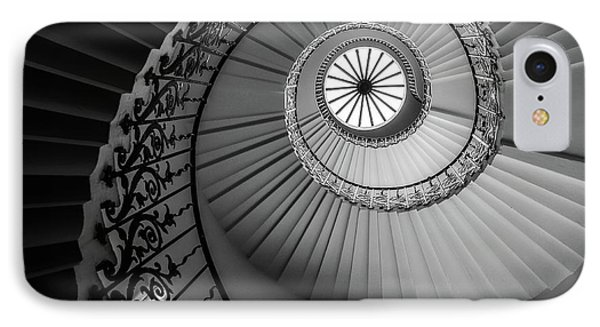 French Spiral Staircase 1 IPhone Case