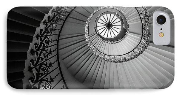 French Spiral Staircase 1 IPhone Case by Lexa Harpell