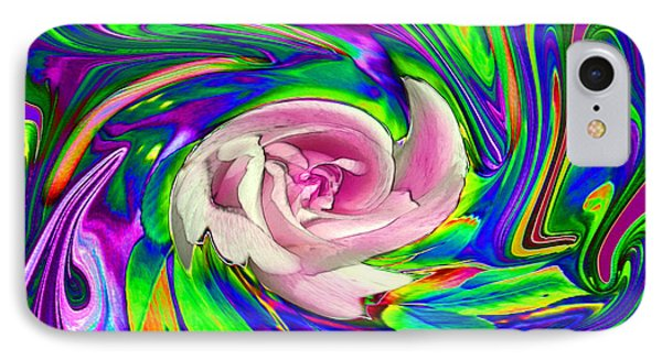 French Wild Rose Phone Case by Rose Guay