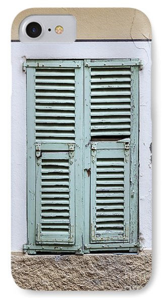French Window With Shutters IPhone Case by Elena Elisseeva