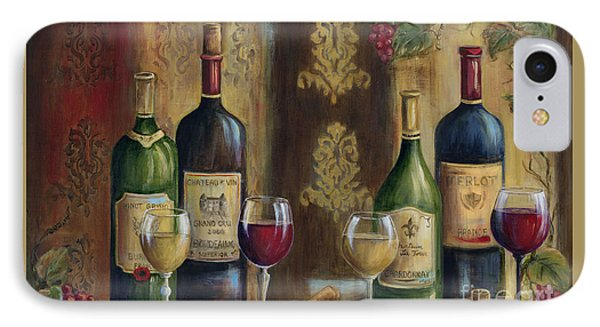 French Wine Tasting IPhone Case by Marilyn Dunlap