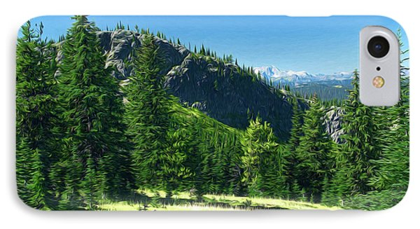 IPhone Case featuring the photograph Fresh Air In The Mountains Photo Art by Sharon Talson