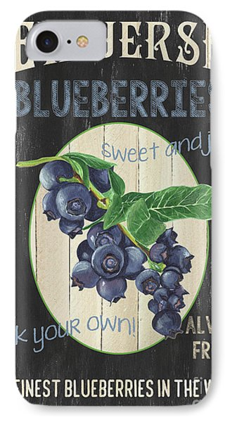 IPhone Case featuring the painting Fresh Berries 1 by Debbie DeWitt
