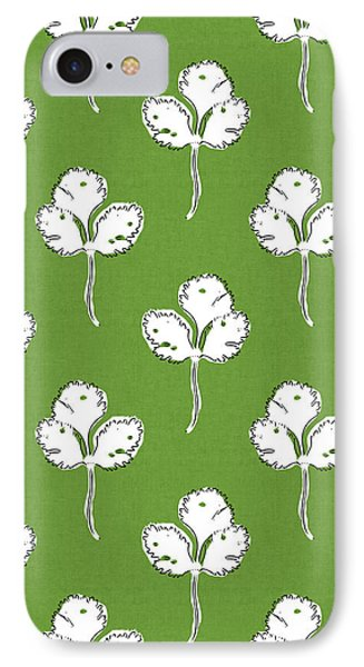 Fresh Cilantro- Art By Linda Woods IPhone Case