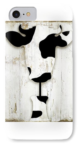 Cow iPhone 7 Case - Fresh Dairy by Mindy Sommers