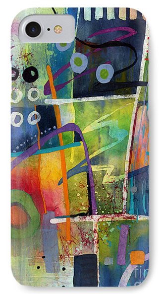IPhone Case featuring the painting Fresh Jazz by Hailey E Herrera