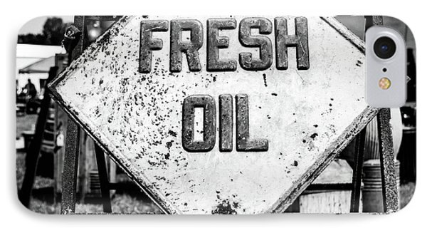 Fresh Oil IPhone Case by April Ann Canada