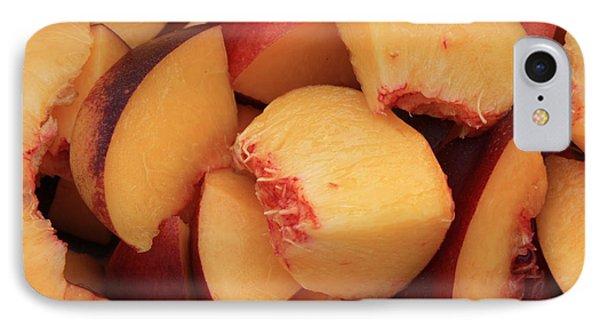 Fresh Peaches Phone Case by Carol Groenen