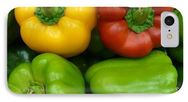 Fresh Peppers II Phone Case by Florene Welebny