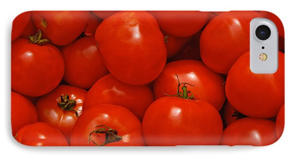 Fresh Red Tomatoes Phone Case by Thomas Marchessault
