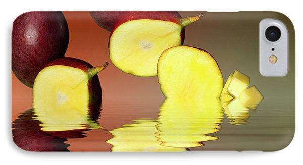 Fresh Ripe Mango Fruits IPhone Case by David French