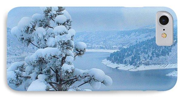 Fresh Snow IPhone Case by Jeffrey Birr