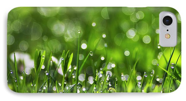 Fresh Spring Morning Dew Phone Case by Christina Rollo